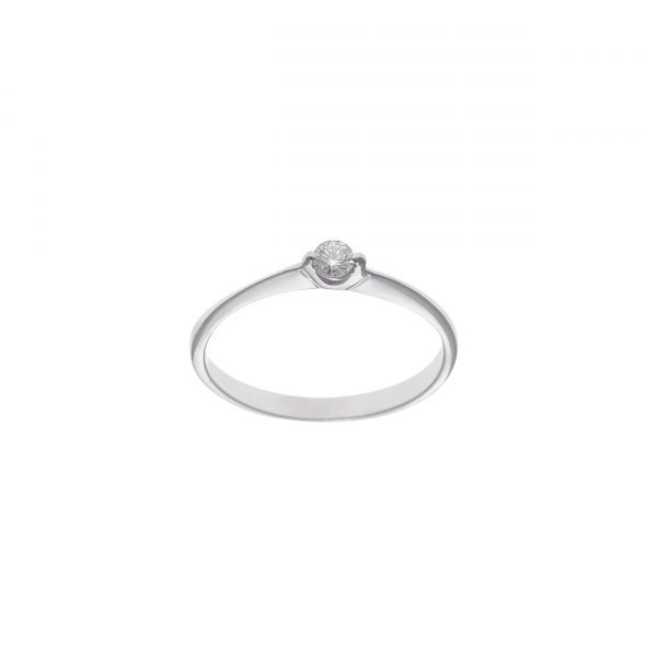 SOLITARIO DE BRILLANTE 0.10CT